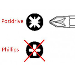 Embout Pozidrive - Outillages & Accessoires