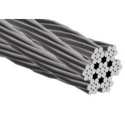 Câble acier galvanisé - 7x7 - en bobine - Accrochage par câbles