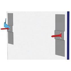 T-Screw accrochage pour Dibond - Accrochage Mural