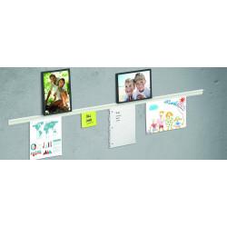 Rail Déco avec tablette Info Rail + pour dessins et photos - Posters - Photos - Dessins