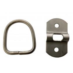 Pontet d'élingage - 2 trous - 55 kg - Attelles, anneaux, attaches