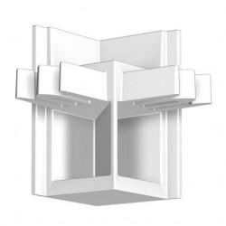 Raccord d'angle cimaise R20 - Accrochage par câbles