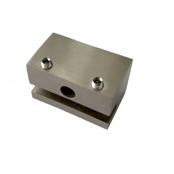 Attache haute pour Rail type J - Cube 2.5 - Accrochage par câbles