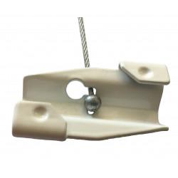 Clip accrochage sur faux plafonds - Signalétique