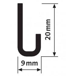 Rail J Classic rail plus - 100 kg - Accrochage par câbles