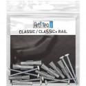 Rivets plastiques - naturel - longueur 15 mm