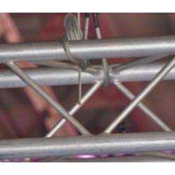 Grippeur pour tringle - Accrochage par câbles