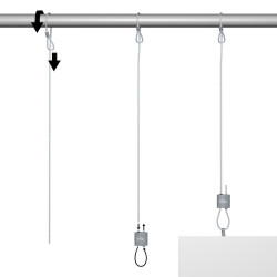 Kit Easy Boucle Loop Hanger - Accrochage par câbles