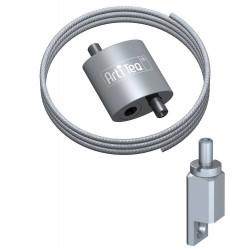 Kit Easy Boucle Loop Hanger 1 grippeur - Accrochage par câbles