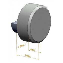 Fixation pour miroir ronde - Panneaux / verres