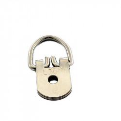 Attelles 1 trou - nickelé - 5 kg - Attelles, anneaux, attaches