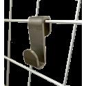 Embout blanc pour Rail d'accrochage Newly R20 - Accrochage par câbles