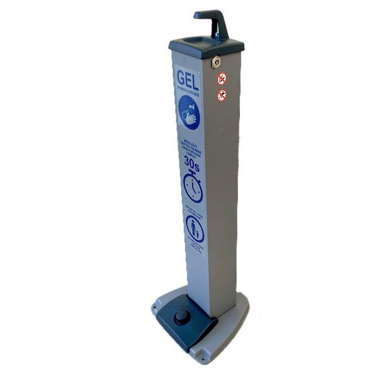 Distributeur de gel hydroalcoolique grand public - PROTEGER